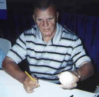 Moose Skowron autographed American League baseball