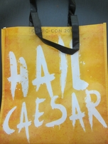 Planet of the Apes Hail Caesar 2017 Comic-Con exclusive Fox promo tote bag