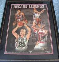 Retired Basketball Player Autographs