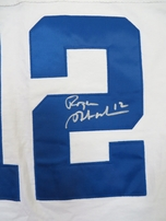Roger Staubach autographed Dallas Cowboys authentic Champion throwback jersey