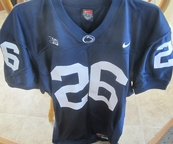 Saquon Barkley 2016 Penn State authentic Nike #26 blue stitched loose cut size XL jersey NEW