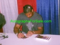 Shawne Merriman autographed San Diego Chargers 5x8 photo