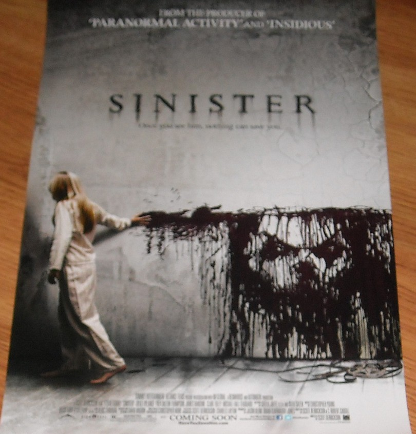 Sinister 2012 movie mini 11x17 inch promo poster (Ethan ...
