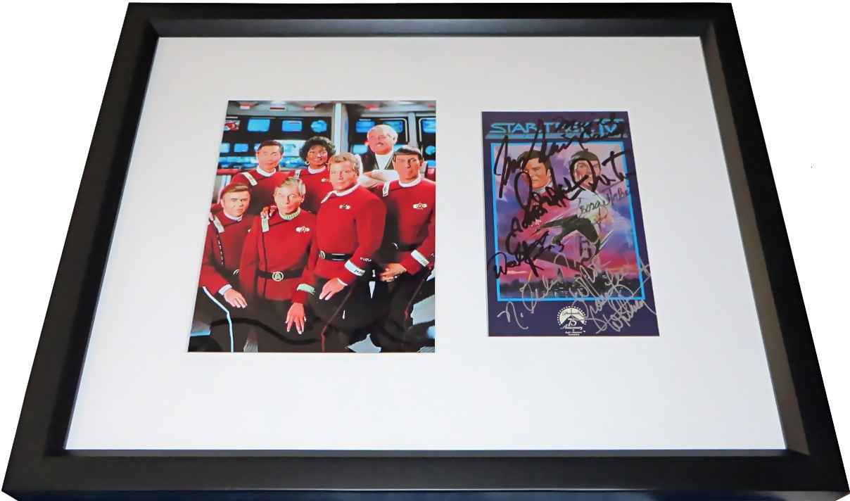 The voyage home star trek cast pictures.