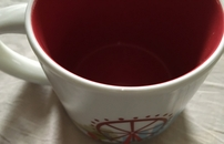 Starbucks 2013 You Are Here Collection London 14 ounce collector coffee mug (tiny edge ding)