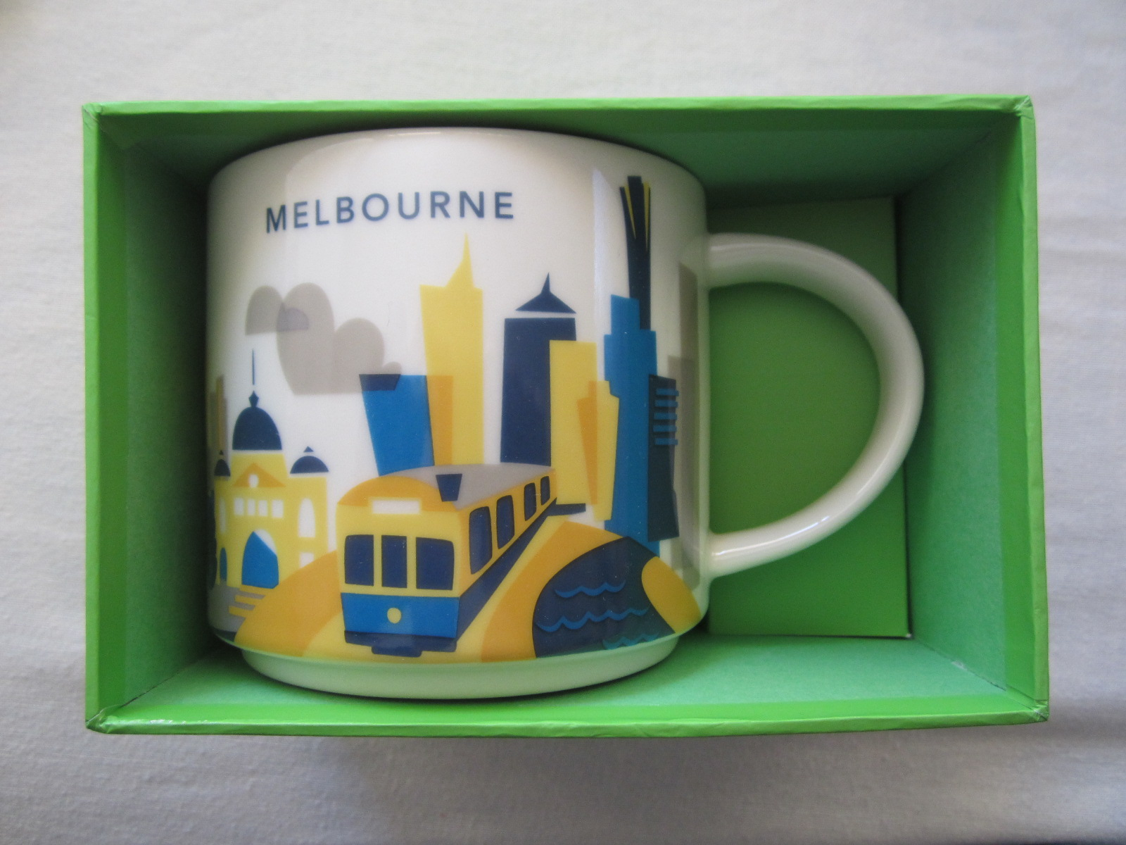 Starbucks 2017 You Are Here Collection Melbourne 14 Ounce Collector Coffee Mug New