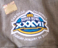 Super Bowl 37 long sleeve dressy casual shirt by Port Authority (Tampa Bay Buccaneers win)