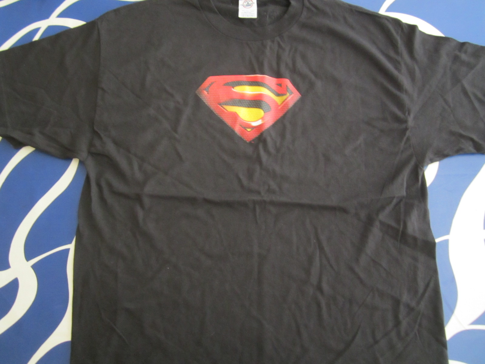 Superman Returns Movie Black Promotional T Shirt New Movie Posters
