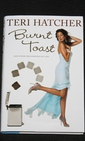 Teri Hatcher autographed Burnt Toast hardcover book (JSA)