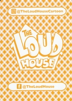 The Loud House 2017 Comic-Con 5x7 promo playing card