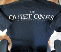 The Quiet Ones movie 2014 Wondercon promo T-shirt