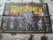The Watchmen movie 2008 Comic-Con promo foldout poster