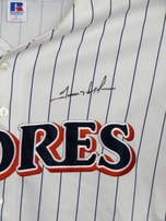 Trevor Hoffman autographed San Diego Padres 1990s throwback jersey