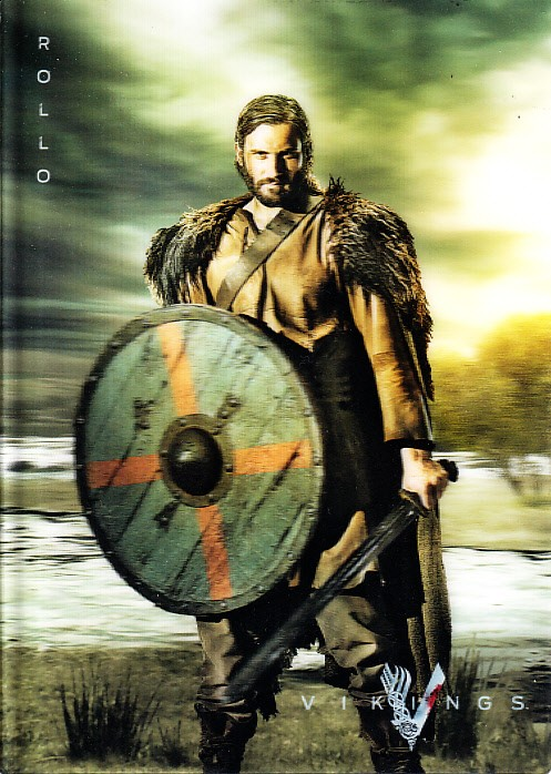 vikings rollo 2013 comic con sdcc 5x7 lenticular history. Black Bedroom Furniture Sets. Home Design Ideas