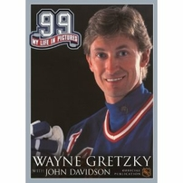 Wayne Gretzky autographed 99 My Life in Pictures coffee table softcover book
