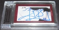 Wayne Gretzky & Marty McSorley certified autograph 2012 Leaf Executive Masterpiece Dual Cut Signature card #1/1