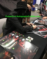 Wednesday 13 autographed Nuclear Blast 11x17 inch mini promotional poster