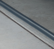 18' Garage Door Seal in Gray