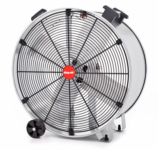Heavy Duty Fan >> 30 Inch Shop Air Heavy Duty Drum Fan