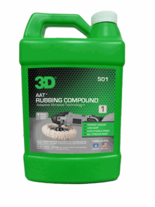 3D AAT Rubbing Compound 128 oz.