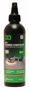 3D AAT Rubbing Compound 8 oz
