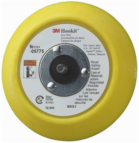 3M Hook-It 5 Inch Dual Action Backing Plate - 5775