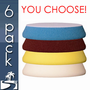 """7 Inch Buff & Shine Uro-Tec Foam Pads - 6 Pack <font color=""""red"""">Choose Your Pads!</font>"""