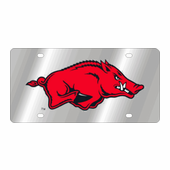 Arkansas Razorbacks NCAA Team License Plate