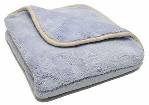 Big Blue Microfiber Drying Towel, 18 x 18 inches
