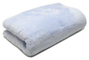 Big Blue Microfiber Drying Towel, 40 x 28 inches