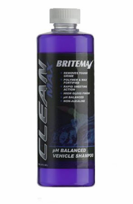 Britemax Clean Max pH Balanced Vehicle Shampoo 16 oz.