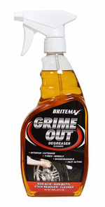 "Britemax Grime Out Degreaser <font color=""ff0000""> Free With Orders Over $50 </font>"