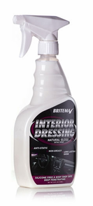 "Britemax Interior Dressing Natural Gloss <font color=""ff0000""> Free With Orders Over $100 </font>"