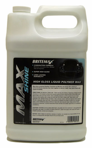 Britemax Max Shine High Gloss Polymer Wax 128 oz.