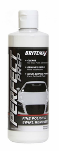 "Britemax Perfect Prep Fine Polish and Swirl Remover <font color=""ff0000""> Free With Orders Over $150 </font>"