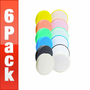 Buff and Shine 4 inch Flat Foam Pad 6 Pack - YOUR CHOICE!