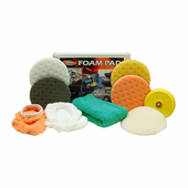 Buffing Pads and Accessories for Porter Cable 7424 XP and Other Dual Action Polishers