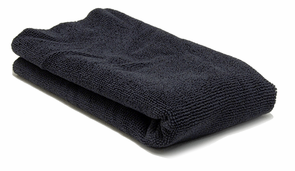 Carbon Black Edgeless Microfiber Polishing Cloth
