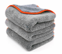 Chinchilla Microfiber Buffing Cloth, 16 x 24 inches - 3 Pack