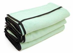 Cobra Ultimate Guzzler Waffle Weave Drying Towel, 28 x 44, 3 Pack