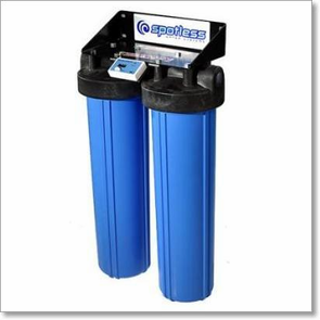 CR Spotless Wall Mount De-ionized Water Filtration System, 300 Gallon Output