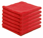 Crimson Red Edgeless Polishing Cloth- 6 Pack