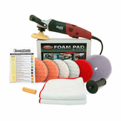 FLEX L3403 VRG Lightweight Circular Polisher 5.5 inch Pad Kit <font color=red>FREE BONUS</font>