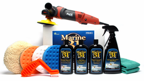 FLEX PE14-2-150 Marine 31 Boat Oxidation Removal Kit