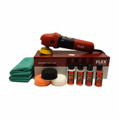 FLEX PE8 Kompakt Rotary Polisher Starter Kit