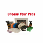 FLEX XC3401 VRG Dual Action 6.5 inch Pad Kit - Choose Your Pads! <font color=ff0000><b>FREE BONUS</font></b>