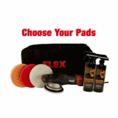 FLEX XC3401 VRG Orbital Polisher Intro Kit - Choose Your Pads! <font color=red>FREE FLEX BAG</font>