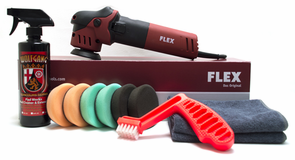 "FLEX XFE 7-12 80 3"" Mini Polisher Starter Kit - FREE SHIPPING"