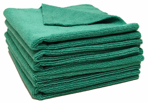 Forrest Green Edgeless Microfiber Polishing Cloths - 6 Pack