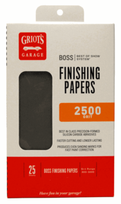 Griot's Garage BOSS Finishing Papers 2500g